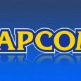 Capcom blau Logo