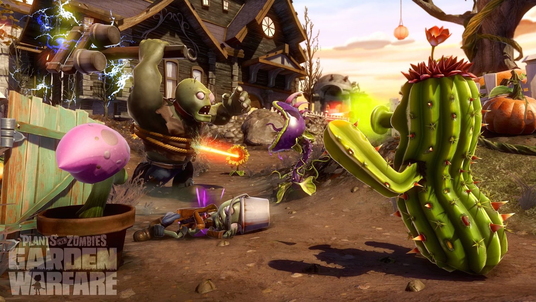 Testbericht Pflanzen Vs Zombies Garden Warfare Xbox