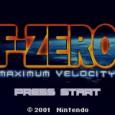 F Zero Maximum Velocity Titelscreen