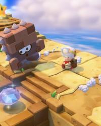 Neben funkelnden Power-Sternen gab es für Toad und Toadette zahlreiche wertvolle Schätze zu entdecken.