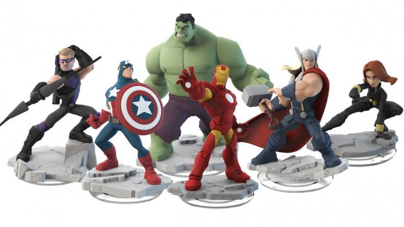 Die Avengers im Disney Infinity-Look!