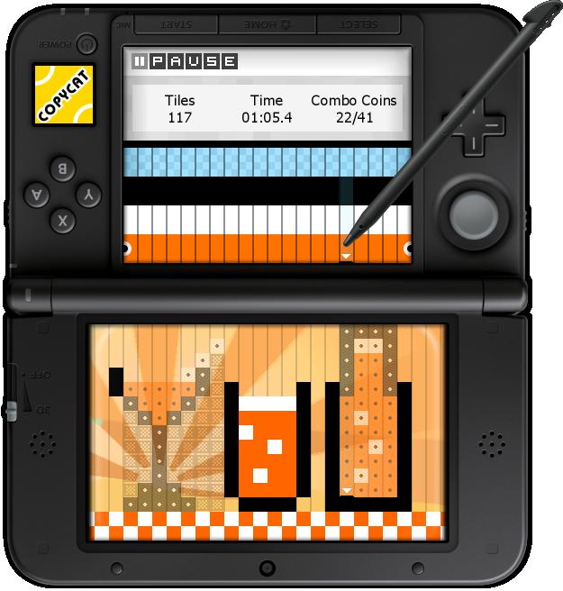Im Copycat-Spielmodus geht es nicht ganz so stressig zu, dennoch solltet ihr schnell mit den Plättchen umgehen können.