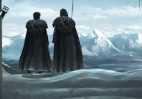 Im hohen Norden treffen wir auf Jon Snow.