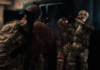 Barry bekommt es in Episode 1 auch mit  zombieähnlichen Kreaturen zu tun.