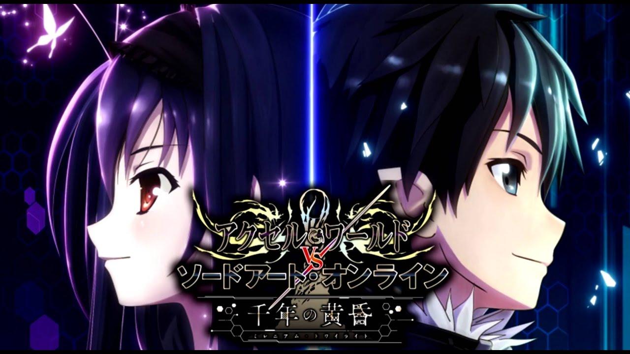 Anime Game Seperti Sao Testbericht Accel World Vs Sword Art Online